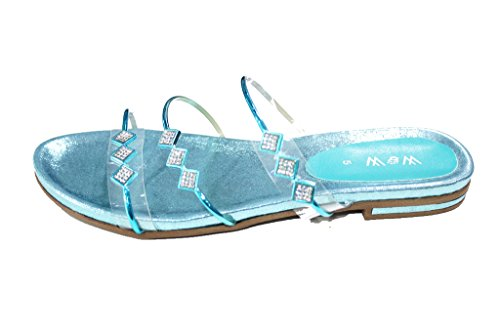 Wear & Walk UK , Sandales pour femme 42 Turquoise