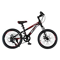 UPTEN Legend 20 inch Mountain bike MTB Bicycle school cycle (Black & Red)