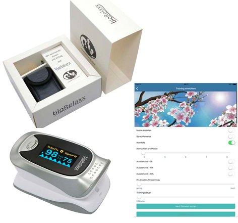 bioRelaxx TIP - HRV Biofeedback Training für Smartphone + Tablet