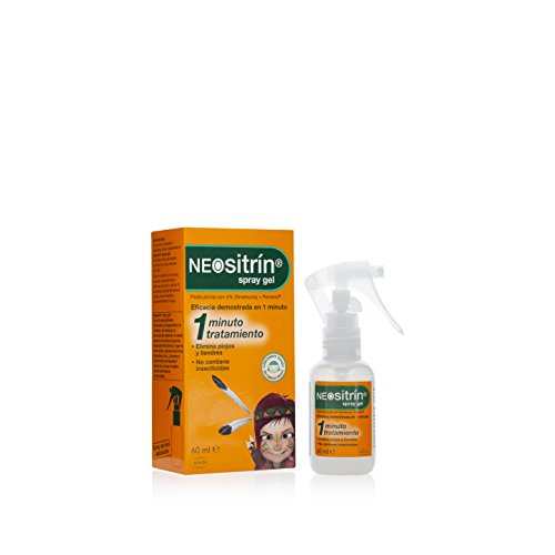 Neositrín - Spray Gel, Tratamiento para Eliminar Piojos y Liendres - [ 100ml ]