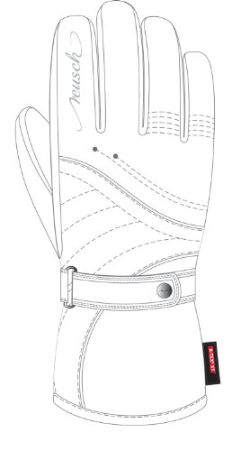 Reusch RIXA R-TEX R-LOFT 54 weiß - 7½