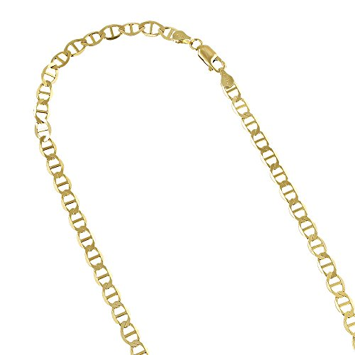 10k-yellow-gold-solid-flat-mariner-chain-3mm-wide-necklace-with-lobster-claw-clasp-20-inches-long