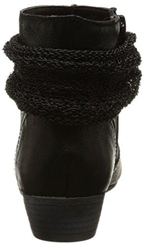 Un Matin d'Eté - Manael, Stivali Donna Nero (Noir (Chevre Oiled Noir))