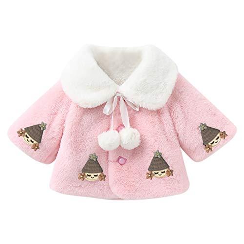 LEXUPE Baby Kleidung Jungen Mädchen Strampler Neugeborenen Overall(A-Rosa,90)