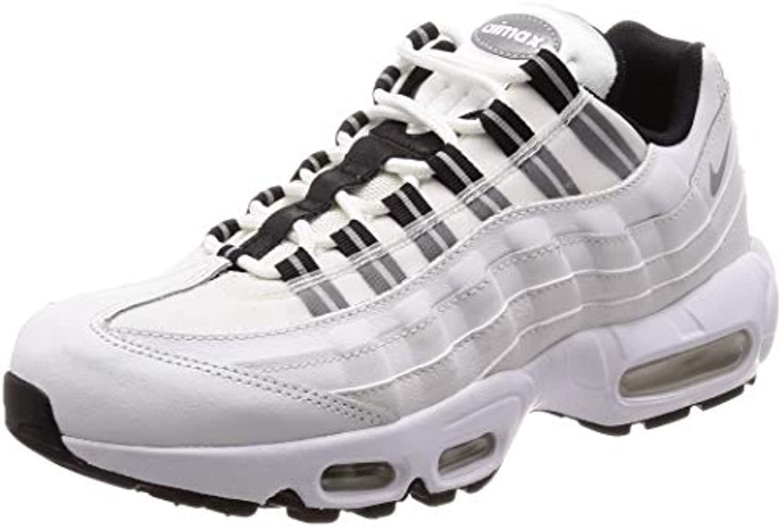 Nike, Donna, Air Max 95, Pelle, scarpe da ginnastica, Bianco | Speciale Offerta  | Uomini/Donne Scarpa