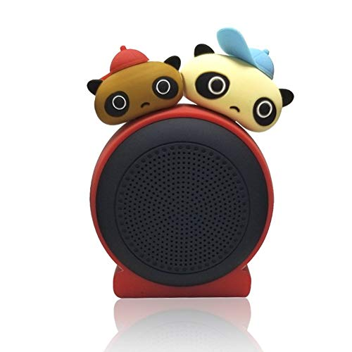 HPTCLYYX Altavoz Bluetooth Desmontable de Dos Cabezas inalámbrico Bluetooth Portátil Regalo Creativo...