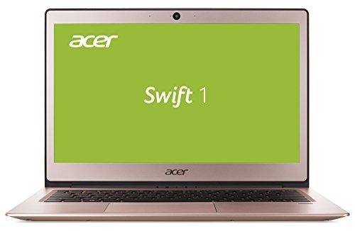Acer Swift 1 SF113-31-P4A2 33,8 cm (13,3 Zoll Full-HD IPS matt) Ultrabook (Intel Pentium N4200, 4GB RAM, 256GB SSD, Intel HD, Win 10) roségold