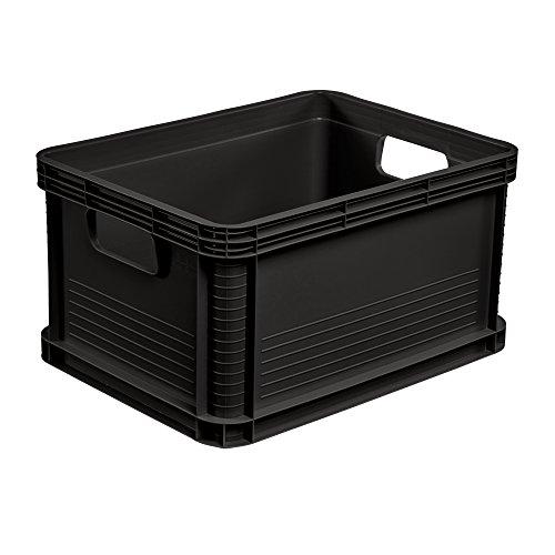 keeeper Stabile Transportbox, Säurebeständig und Lebensmittelecht, 40 x 30 x 22 cm, 20 l, Robert, Grapit Grau