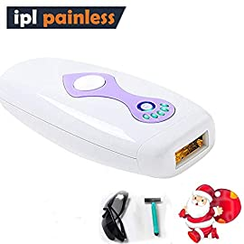 MANLI IPL Epilatore luce pulsata per corpo, 500.000 pulsazione, 5 livelli di energia regolabili