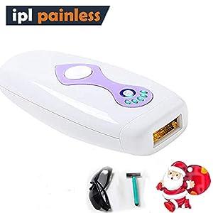 IPL Geräte Haarentfernung, Lichtimpulse Haarentfernungsgerät für Dauerhafte Haarentfernung für Frauen Männer Gesicht und Körper mit Lichtschutzbrille