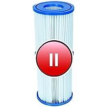 Bestway - Cartucho de filtro para bombas de piscina (4 unidades, tamaño 2)
