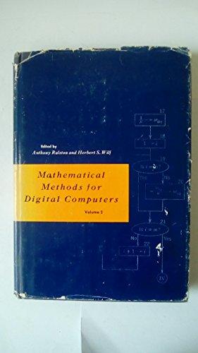 Mathematical Methods for Digital Computers: v. 2