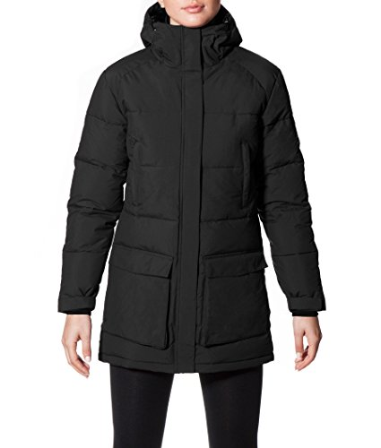 ECOALF - Samoens Jacket Woman, Piumino da donna, nero (black 319), M