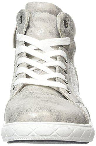 Supremo Kinderschuhe Mädchen High-Top Silber (Silver) 90zWLaj