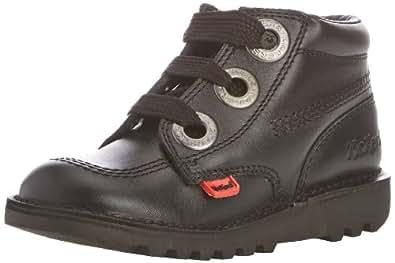 Kickers Unisex-Child Kick HI Largit J Boots 112812 Black 12.5 UK Child, 31 EU