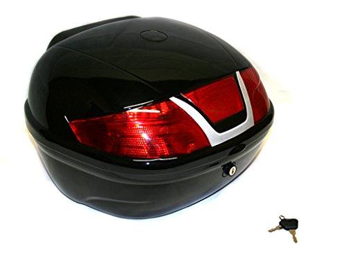 Top Case Helm Koffer Box Rollerkoffer Motorradkoffer 28L abschliessbar