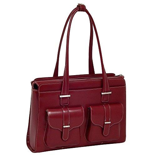 McKleinUSA Alexis Leder Damen Aktentasche für Laptop rot One Size -