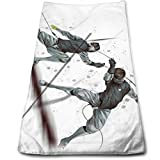 huibe Handtuch Haartuch Fechten Sport Superweiche Mikrofasertuch saugfähig und schnell trocknend, Sporttuch, Reisetuch zum Wandern, Fitness, Schwimmen (30 x 70 cm)