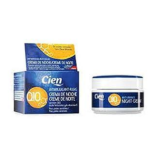 50 ml Crema de Noche Antiarrugas Q10 – con Q10, ácido hialurónico y vitamina E – para pieles sensibles