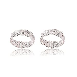 A-One Collection Silver Plated Toe Ring for Women