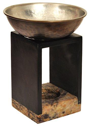 Alterras - Duftlampe: Kubus schwarz (HxB: 13cmx7mm)