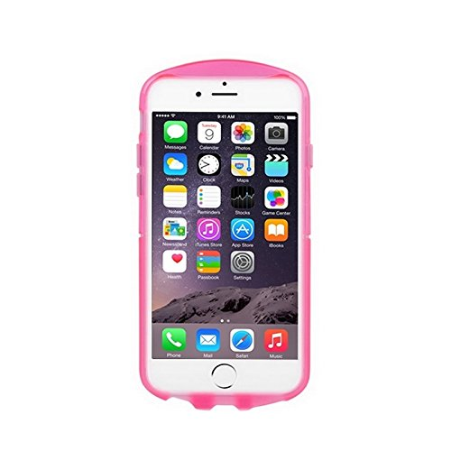 Phone case & Hülle Für IPhone 6 / 6S, Frosted Soft TPU Sky Schutzhülle ( Color : White ) Magenta