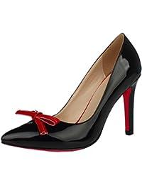 suchergebnis auf f r schwarze pumps mit roter. Black Bedroom Furniture Sets. Home Design Ideas