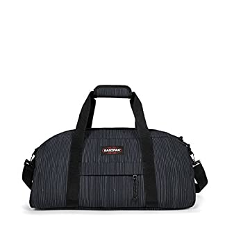 Eastpak Stand + Bolsa de Viaje, 53 cm, 34 Liters, Azul (Stripe-It Cloud)