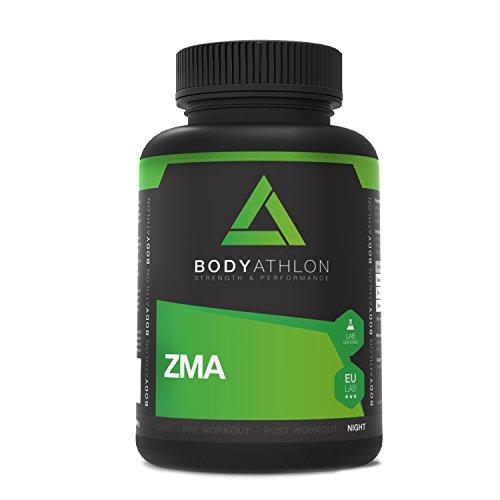 BodyAthlon ZMA - 90 kapseln Zink Magnesium B6 - Testosteron Booster -