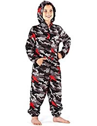 Selina Boys - Pijama de una pieza - Manga Larga - para niño
