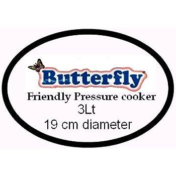 Butterfly Friendly Aluminium Pressure Cooker Gasket 3Lt