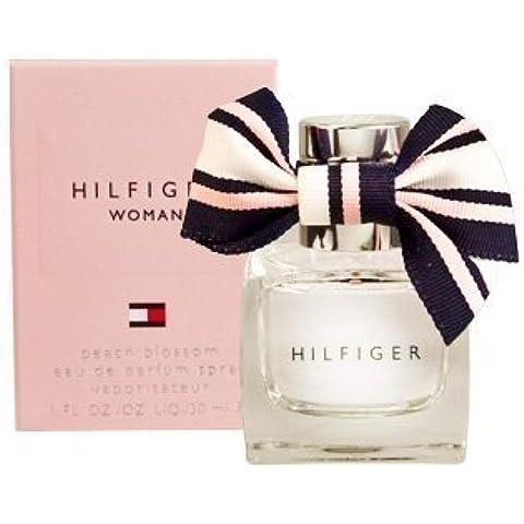 HILFIGER WOMAN PEACH BLOSSOM For Women 1.0 oz EDP Spray By TOMMY HILFIGER by HILFIGER WOMAN PEACH BLOSSOM