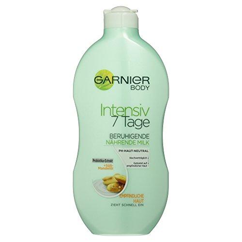 Garnier Body Intensiv 7 Tage Beruhigende, nährende Milk, 1er Pack (1 x 400 ml) (Lotion Feuchtigkeits Beruhigende)