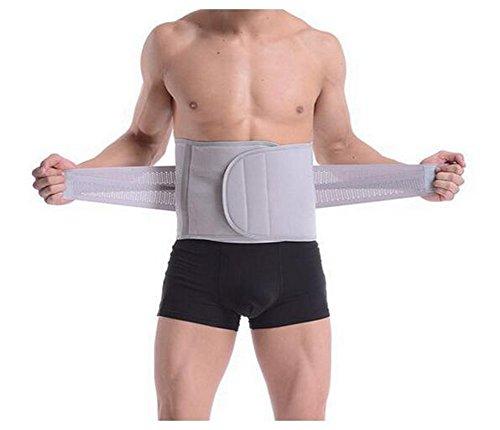erioctry Taille Trimmer Gürtel Schlanken Körper Sweat Wrap für Bauch und Rücken Lordosenstütze Fitness Body Shaper Einstellbare Lendenrückenstütze (XL)