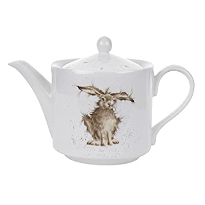 Wrendale by Royal Worcester lièvre Théière