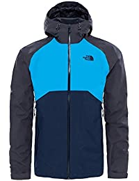 North Face M Stratos Jacket - Chaqueta, Hombre, L, Azul