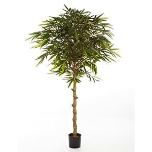 Bambou artificiel sur tige en pot 1535 feuilles 180 cm for Tige de bambou artificiel