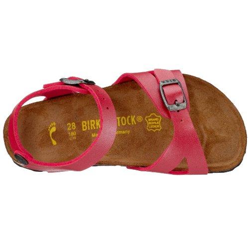 Birkenstock Rio , Sandales mixte enfant Ice Pearl Corail