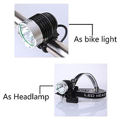 SupFire BL02 10W LED Dual Use USB Aufladbare Mountainbike Licht Scheinwerfer
