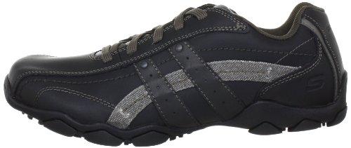 Skechers Diameter Blake, Chaussures de ville homme Noir (Blk)