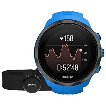 Suunto Spartan Sport Wrist HR mit Brustgurt, Blau: Amazon