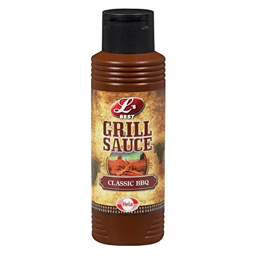 S/s Sauce (Hela Grill Sauce Classic BBQ 300 ml, 6er Pack (6 x 300 ml))