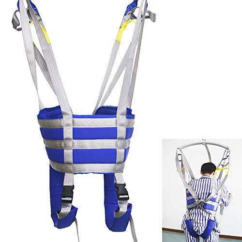 41dIyhIdG%2BL - ZIHAOH Cabestrillo De Elevación De Paciente De Cuerpo Completo,cinturón De Transferencia Médica De Elevación para Personas Mayores Discapacitados, Cinturón para Caminar Asistido por El Paciente