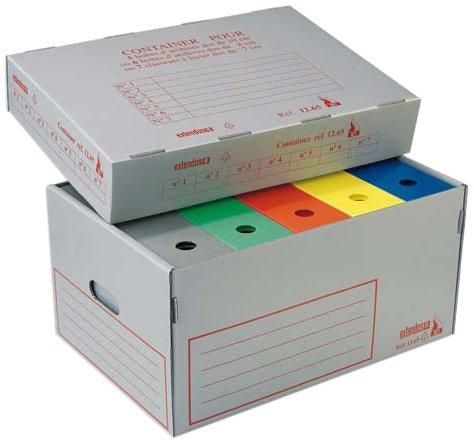 extendos-1265m1x5-container-ignifuge-polypropylene-alveole-lot-de-5