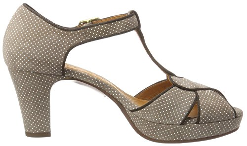 Chie Mihara Igi, Sandales  Bout ouvert femme Beige (punti taupe)