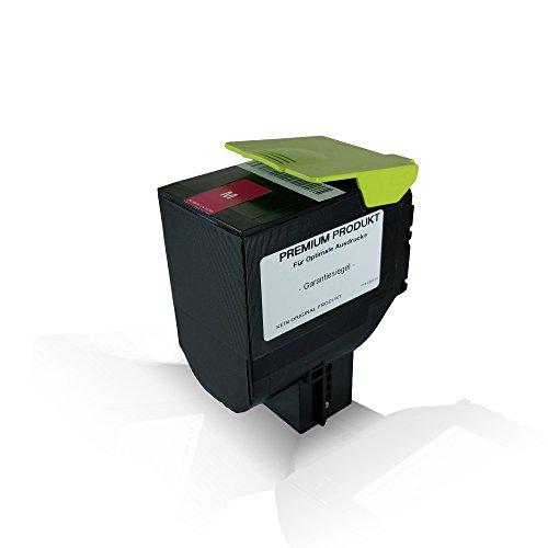 Preisvergleich Produktbild kompatible Tonerkartusche Magenta mit 3.000 Seiten für Lexmark CS 310 dn CS 310 n CS 410 dn CS 410 dtn CS 410 n CS 510 de CS 510 dte 70C2HM0 Magenta M - Eco Pro Serie
