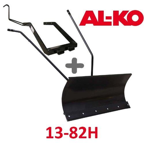 Lame à Neige 118 cm Noire + adaptateur pour AL-KO 13-82H