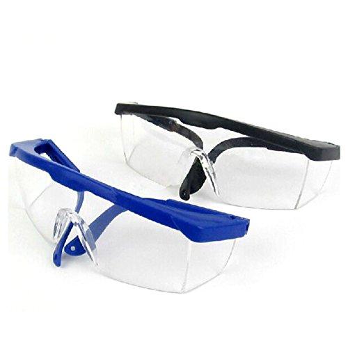Yalulu 2Pcs Kinder Schwarz Blau Elite Schutz Schutzbrille Brillen für Nerf Gun N-Strike Elite Series (Nerf-gun-brille Kinder)