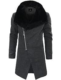 Tom's Ware Manteau-Prime melange de laine Fashion Trench-Hommes