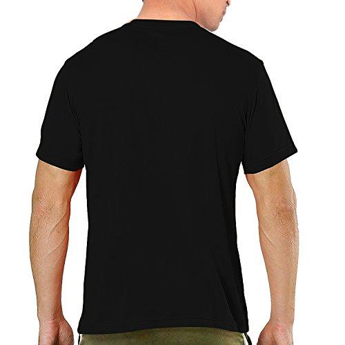 Pooplu-Mens-Lets-Fly-A-Kite-Cotton-Printed-V-Neck-Half-Sleeves-Black-White-T-Shirt-Makar-Sankranti-Uttarayan-Sankrant-Tshirt